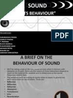 2.Behaviour of Sound
