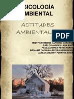 Actitudes Ambientales. 2