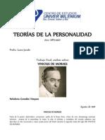 Analisis de Personal Id Ad VINICIUS de MORAES