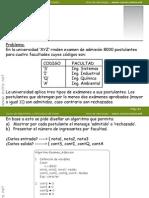 Ejercicio 01 Algoritmos y Estructura de Datos