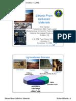 Ethanol From Biomass ++++