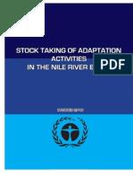 Climate Change Adaptation Stocktaking Nile Basin