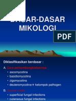 DASAR-DASAR MIKOLOGI