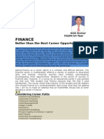 Financial Career Options