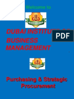 Purchase Management Course Materials