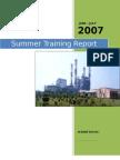 NTPC Faridabad Training Report