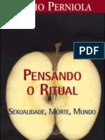 Pensando o Ritual - Mario Perniola
