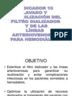 Lavado y Esterilizacion Del Filtro Dializador