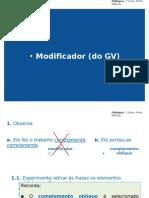 Modificador Do GV