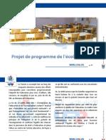 06.Projet de Programme de l'Ecole d'Avenir