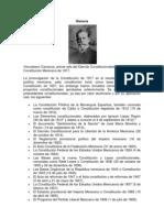 CONSTITUCION POLITICA DE 1917