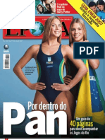Cobertura do Pan 2007 - Revista ÉPOCA