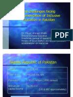 Fayas Ahmed Bhatti Challenges-Inclusive-Education-Pakistan En