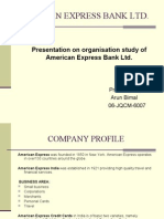 American Express Final Project