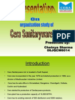 Cera Sanitary Ware Ltd