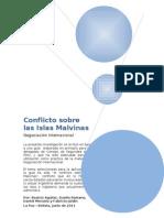 Conflicto Islas malvinas