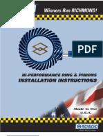 Dana44 Ring Pinion Install Guide2
