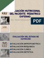 EVALUACIÓN NUTRICIONAL DEL PACIENTE  PEDIATRICO ENFERMO bn