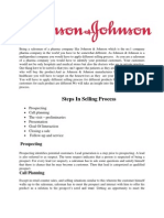 Project On Personal Selling