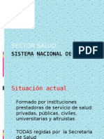 Sector Salud y Epidemiologia de Salud Publica