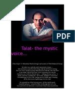 Talat-The Mystic Voice..
