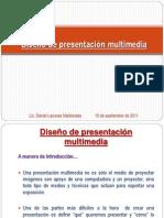 Diseño de presentación multimedia
