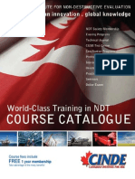 CINDE Course Calendar