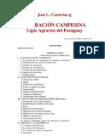LIBERACION CAMPESINA Ligas Agrarias  del Paraguay - José L. Caravias - PortalGuarani