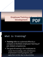 Introduction to Employee Training and Development PPT 1[1]