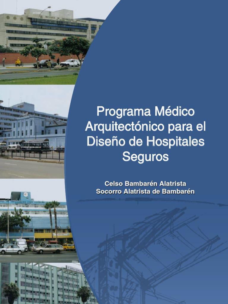 Programa medico arquitectonico para dise o de hospitales for Programa arquitectonico de un restaurante pdf