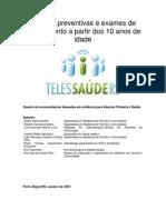 098-Praticas Preventivas 10a Ou Mais TelessaudeRS