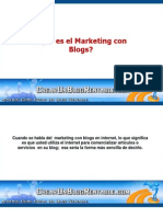 Que Es El Marketing Con Blogs