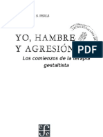 Perls Fritz - Yo Hambre Y Agresion