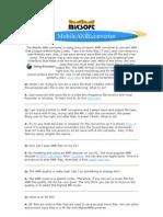 Mobile AMR Converter Guide