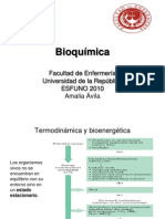9 - Termodinámica y Bioenergética