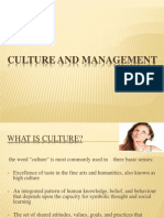 Culture and Management Ppt