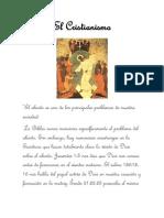 cristianismo JOhan Caro