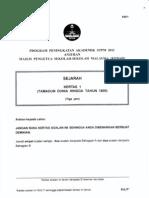 2011 PSTPM Kedah Sejarah 1 w Ans