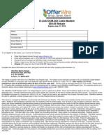 OfferWire Prepaid Card DCM202 072010