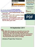 Numeracy Day 13, 2011-2012