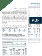 Market Outlook 19th September 2011