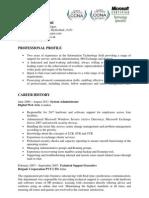 AV Resume Edit D