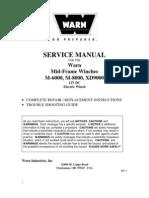 Manual manutenção guincho Warn
