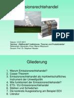 Praesentation Emissionshandel Alex