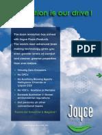 Joyce Brochure