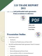 WTR( World Trade Report)-2011