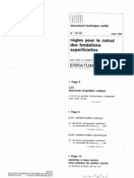 DTU_13.12 fondation superficiel