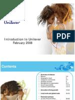 unilever 2008