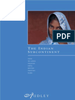 Audley Indian Subcontinent Introduction