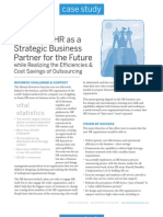 HR Transformation Case Study
